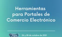 """Taller """"Herramientas para portales de comercio electrónico"""""""